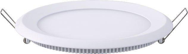 Upotettava valaisin FocusLight Slim LED 15W 230V 3000K 900lm IP44 Ø 180mm valkoinen