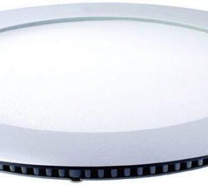 Upotettava valaisin FocusLight Slim LED 20W 230V 3000K 1200lm IP20 Ø 240mm valkoinen