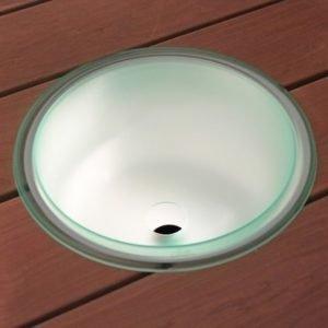 Valaiseva kiulu poistoaukolla IB320 valokuiduille Ø 320x180 mm