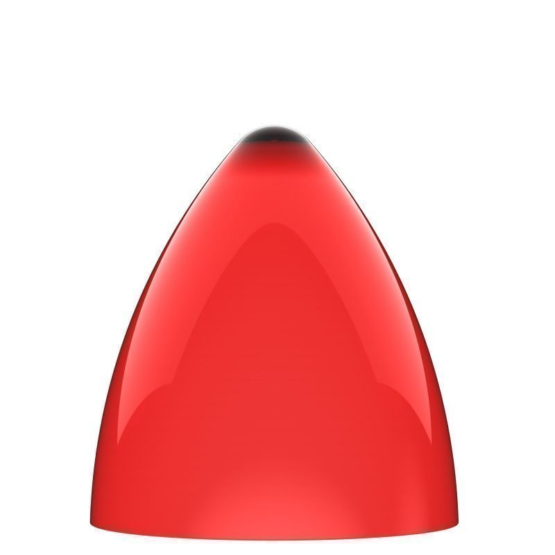 Valaisinkupu Funk 22 Ø 220x240 mm punainen