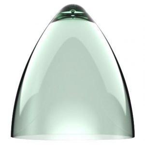 Valaisinkupu Funk 27 Ø 270x300 mm läpinäkyvä vihreä
