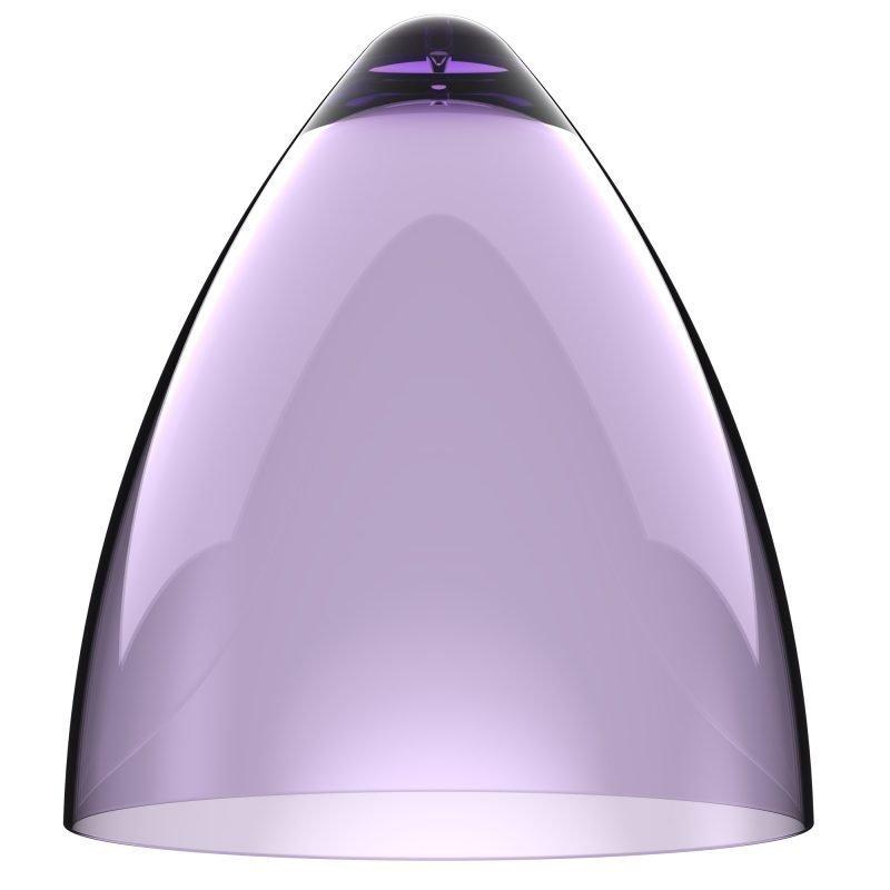 Valaisinkupu Funk 27 Ø 270x300 mm läpinäkyvä violetti