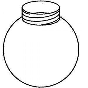 Valaisinkupu i-Valo 8163-150-02 Ø 150 mm polykarbonaatti valkoinen