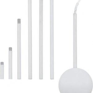 Valaisinliitännän jatkokappale 1570x120 mm valkoinen