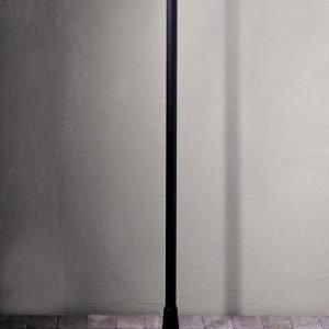 Valaisinpylväs 576-750 Pegasus musta 1870 mm