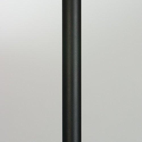 Valaisinpylväs VP225050/M 2 m Ø 50 mm musta