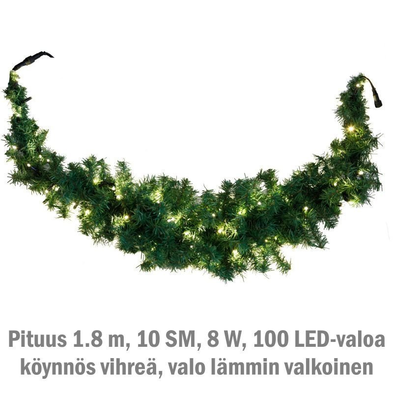 Valoköynnös System LED Extra kaareva 8W 100 valoa 1