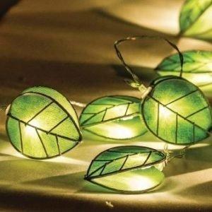 Valoköynnös lehdet 10 LED-valoa