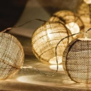 Valoköynnös pallot 10 LED-valoa