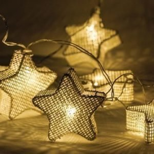 Valoköynnös tähdet 10 LED-valoa