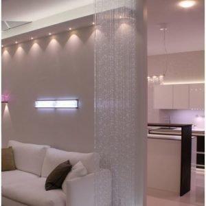Valokuituverho Cariitti Pirta LED Flat 0.8 800x2000 mm
