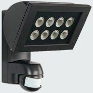 Valonheitin AF 300/200i LED 3K 225x212x177 mm musta liiketunnistimella