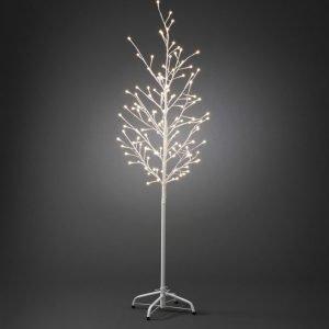 Valopuu LED 3378-100 85x150 cm 120 valoa valkoinen maapiikillä