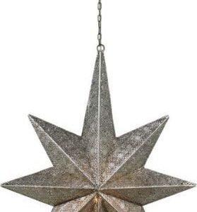 Valotähti Måne 48x80 cm metalli antiikkiteräs