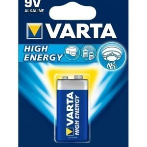 Varta High Energy 9v Alkaliparisto