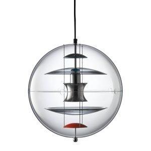Verpan Vp Globe Riippuvalaisin 40 Coloured Glass