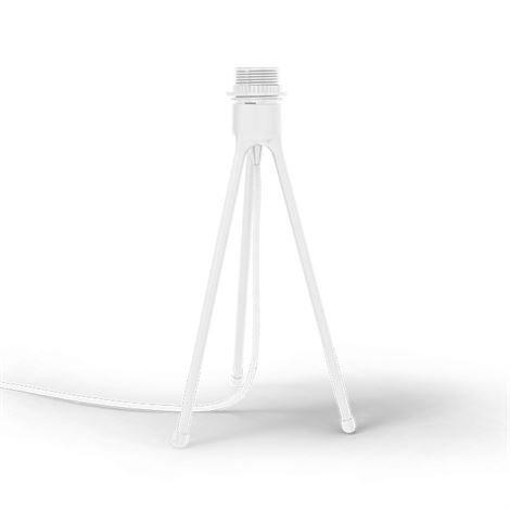 Vita Tripod Lampunjalka Pöytämalli Valkoinen