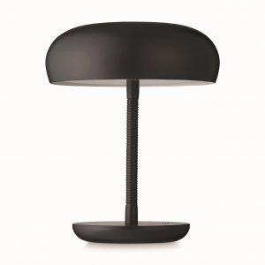 Watt A Lamp Bend Bend Pöytävalaisin Tumman Harmaa