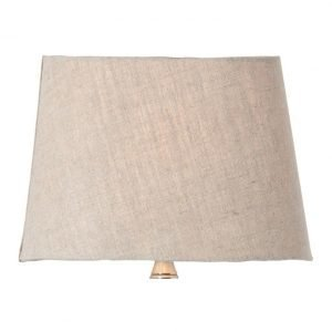 Watt & Veke Basic Oval Lampunvarjostin Beige 230 Mm