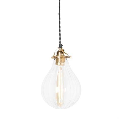 Watt & Veke Droppe Lampunvarjostin Raidallinen Kirkas