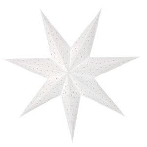 Watt & Veke Stella Slim 60 Joulutähti Valkoinen