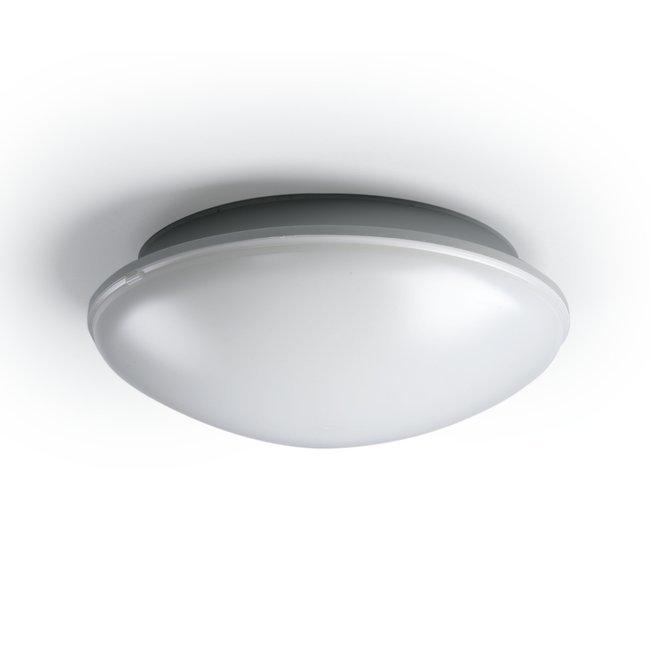 Yleisvalaisin AVR254.29 2x9W TC/G23 Ø254x90 mm vaaleanharmaa/opaali