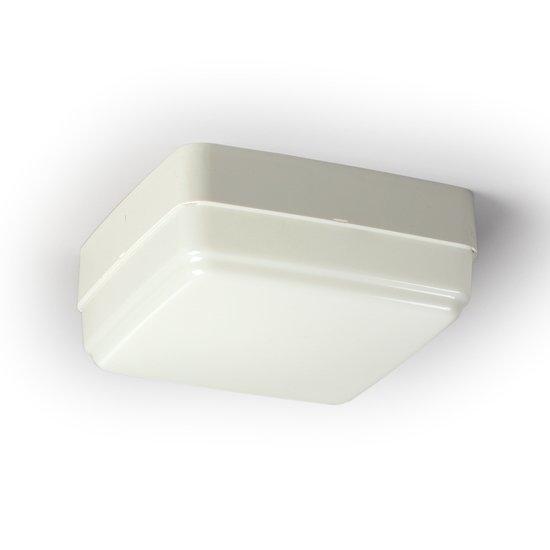 Yleisvalaisin AVR72.118 18W TC-L/2G11 225x225x95 mm valkoinen