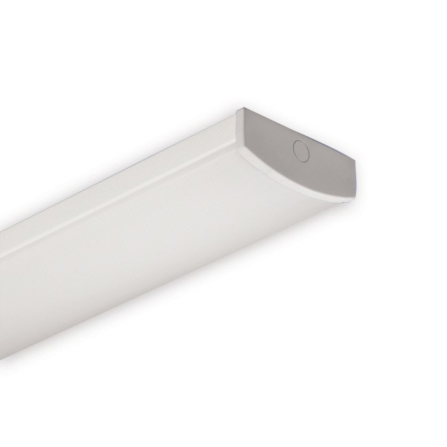 Yleisvalaisin Ekoloiste 2x14W G5 IP44 598x140x57 mm valkoinen