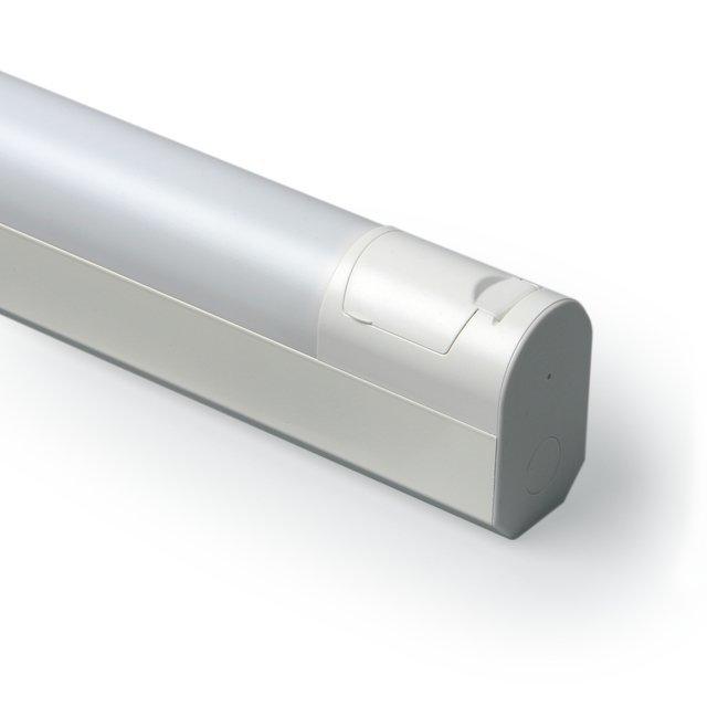 Yleisvalaisin Jono Modulimittainen AVR66.01200P 30W T8/G13 1200 mm pistorasialla valkoinen