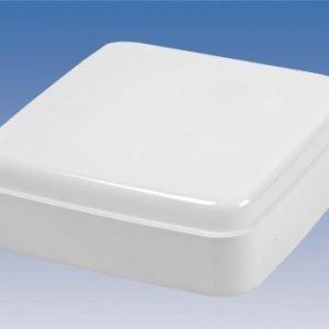 Yleisvalaisin Standard AT7829NV IP44 TC-S 2X9W 237x237x78 mm valkoinen