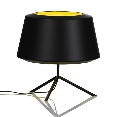 Zero Interiör Can Valaisin Musta Pöytälamppu