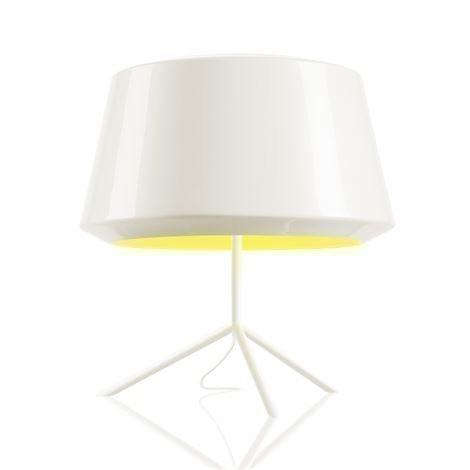 Zero Interiör Can Valaisin Valkoinen Pöytälamppu