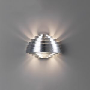 Zero Pxl Seinävalaisin Galvanisoitu Metalli