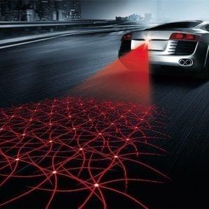 car styling Multi shape Anti Collision Rear-end Car Laser Tail led car Fog Light 12V Auto Brake auto Parking car Warning Light