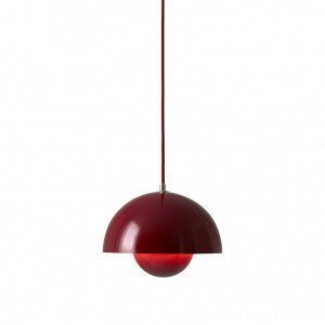 &tradition Flowerpot Vp1 Riippuvalaisin Deep Red