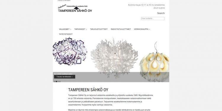 Valaisinliike Tampereen Sähkö Oy